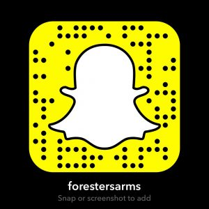 Snapchat for the Foresters Arms Brockenhurst Events